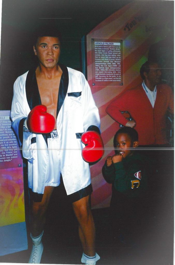 Muhammad Ali and Naeem