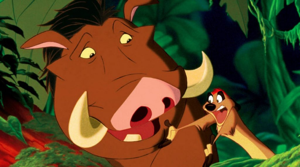 Sometimes There is Too Much Timon and Pumbaa and Not Enough Simba